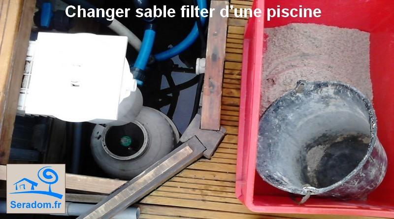 Comment changer le sable d 39 une filtre sable secteur figeac - Changer le sable d un filtre piscine ...