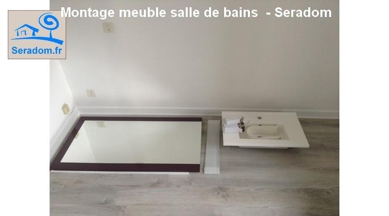 montage meuble salle de bains figeac par seradom. Black Bedroom Furniture Sets. Home Design Ideas