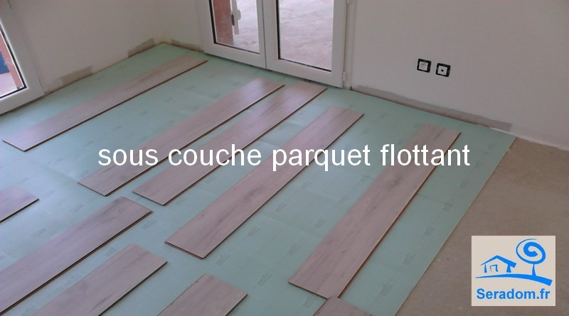 pose sous couche parquet flottant awesome sous couche. Black Bedroom Furniture Sets. Home Design Ideas